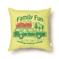 Family Fun - throw-pillow - small view