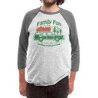 Family Fun - triblend-34-sleeve-raglan-tee - small view