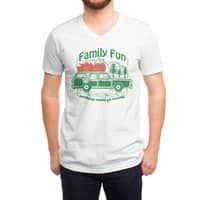 Family Fun - vneck - small view