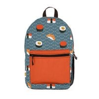 Sushi Pattern - backpack - small view