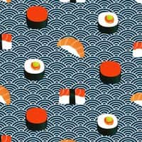 Sushi Pattern - small view