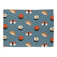 Sushi Pattern - rug-landscape - small view