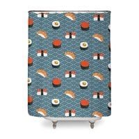 Sushi Pattern - shower-curtain - small view