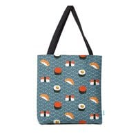 Sushi Pattern - tote-bag - small view