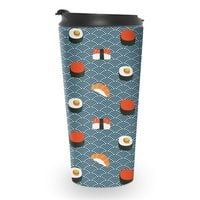 Sushi Pattern - travel-mug - small view