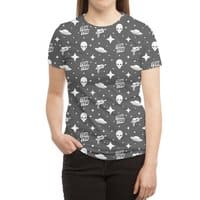 Alien Invasion - womens-sublimated-triblend-tee - small view
