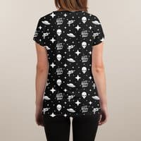 Alien Invasion - womens-sublimated-v-neck - small view