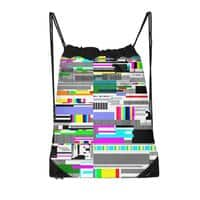 Internet killed the television star - drawstring-bag - small view