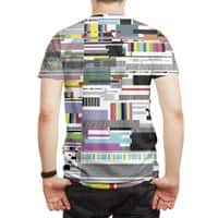 Internet killed the television star - mens-sublimated-tee - small view