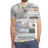 Internet killed the television star - mens-sublimated-triblend-tee - small view
