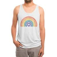 Love All - mens-triblend-tank - small view