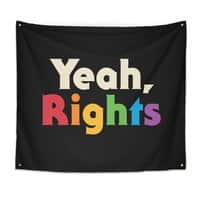 Yeah, Rights - indoor-wall-tapestry - small view