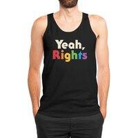 Yeah, Rights - mens-jersey-tank - small view
