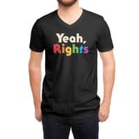Yeah, Rights - vneck - small view