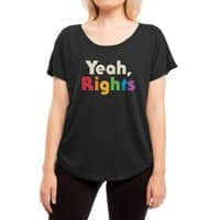 Yeah, Rights - womens-dolman - small view