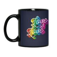Love is Love - black-mug - small view