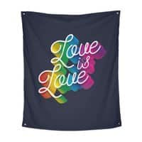 Love is Love - indoor-wall-tapestry-vertical - small view
