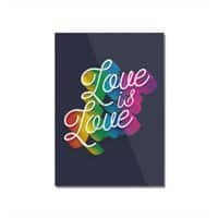 Love is Love - vertical-mounted-acrylic-print - small view