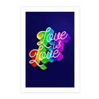 Love is Love - vertical-print - small view