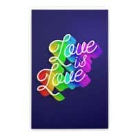 Love is Love - vertical-stretched-canvas - small view