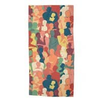 Don't Camouflage Your Love - beach-towel - small view