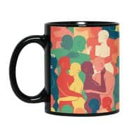 Don't Camouflage Your Love - black-mug - small view