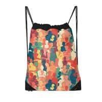 Don't Camouflage Your Love - drawstring-bag - small view