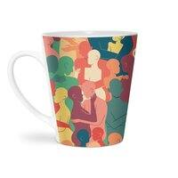 Don't Camouflage Your Love - latte-mug - small view
