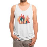 Don't Camouflage Your Love - mens-triblend-tank - small view