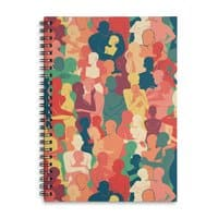Don't Camouflage Your Love - spiral-notebook - small view