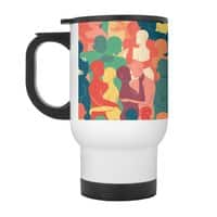 Don't Camouflage Your Love - travel-mug-with-handle - small view