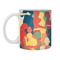 Don't Camouflage Your Love - white-mug - small view