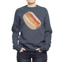 Hotdogs in a bun - crew-sweatshirt - small view
