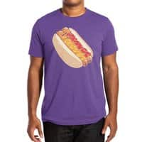 Hotdogs in a bun - mens-extra-soft-tee - small view