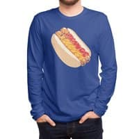 Hotdogs in a bun - mens-long-sleeve-tee - small view
