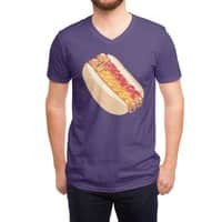 Hotdogs in a bun - vneck - small view