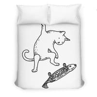 Street cat - duvet-cover - small view