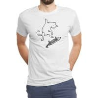 Street cat - mens-triblend-tee - small view
