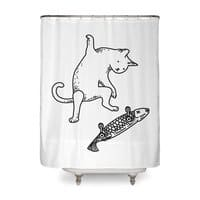 Street cat - shower-curtain - small view