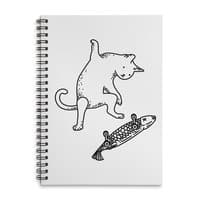 Street cat - spiral-notebook - small view