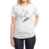 Street cat - womens-regular-tee - small view