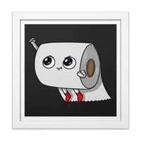 Our daily superhero - white-square-framed-print - small view