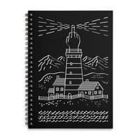 Light The Way - spiral-notebook - small view