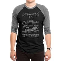 Light The Way - triblend-34-sleeve-raglan-tee - small view