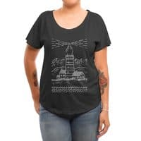 Light The Way - womens-dolman - small view