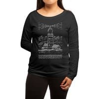 Light The Way - womens-long-sleeve-terry-scoop - small view