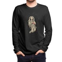 In Space no one can hear you scream - mens-long-sleeve-tee - small view
