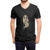 In Space no one can hear you scream - vneck - small view