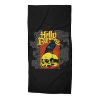 Hello Darkness - beach-towel - small view
