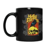 Hello Darkness - black-mug - small view